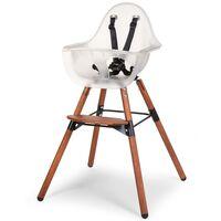 CHILDHOME Wysokie krzesełko 2-w-1 z zabezpieczeniem Evolu 2