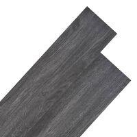 vidaXL Panele podłogowe z PVC, 5,26 m², 2 mm, czarno-białe