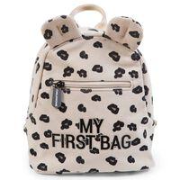 CHILDHOME Plecak dla dziecka My First Bag, płótno, lamparcie cętki