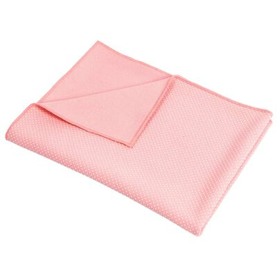 Pure2Improve Ręcznik do jogi, antypoślizgowy, różowy