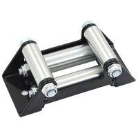 vidaXL 4-kierunkowa prowadnica do liny wyciągarki, stal, 8000-13000 lb