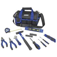 Brüder Mannesmann Zestaw narzędzi, 30 elementów w torbie podróżnej