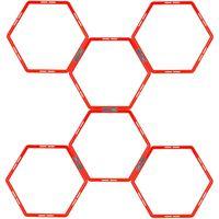 Avento Drabinka koordynacyjna, 6 sześciokątnych elementów