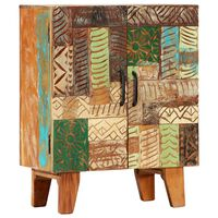 vidaXL Ręcznie rzeźbiona szafka, 60x30x75 cm, lite drewno odzyskane
