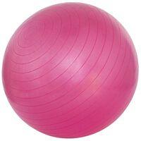 Avento Piłka fitness, 75 cm, różowa, 41VN-ROZ