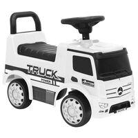 vidaXL Jeździk ciężarówka Mercedes-Benz, biały