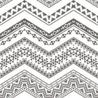 Urban Friends & Coffee Tapeta w etniczny wzór, biało-czarna