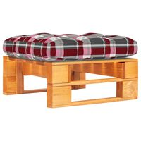 vidaXL Ogrodowy stołek z palet, impregnowane na miodowo drewno sosnowe