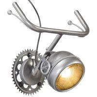 vidaXL Lampa ścienna z częściami motocyklowymi, żelazo