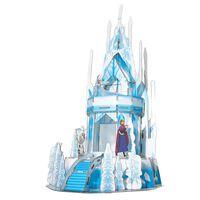 Frozen 2 Puzzle 3D Ice Palace, 47 elementów, przejrzysty niebieski