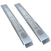 vidaXL Stalowe rampy przeładunkowe, 2 szt., 450 kg
