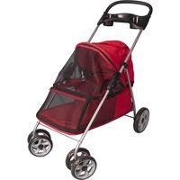 FLAMINGO Wózek dla psa, czerwony, 89 x 37 x 87 cm