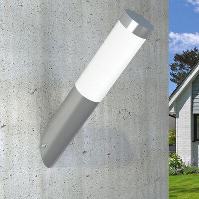 Lampa ogrodowa, ścienna RVS