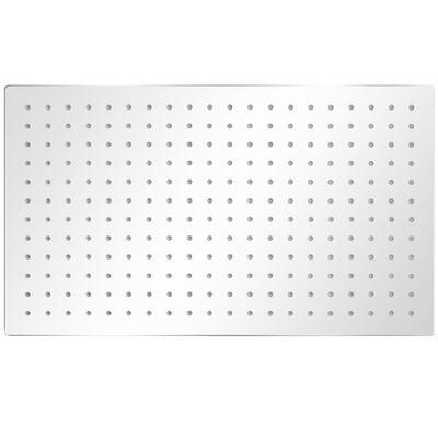 vidaXL Deszczownice ze stali nierdzewnej, 2 szt., 30 x 50 cm