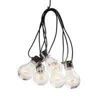 KONSTSMIDE Lampki imprezowe z 10 żarówkami, zestaw startowy