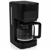 Princess Luksusowy ekspres do kawy Black Steel, 1,5 L, 900 W, czarny