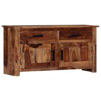 vidaXL Szafka, 100x30x50 cm, z litego drewna sheesham