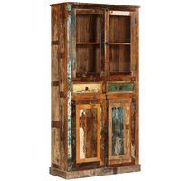 vidaXL Kredens z drewna odzyskanego, 95 x 39 x 185 cm