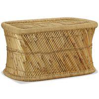 vidaXL Stolik kawowy, prostokątny, bambusowy, 78x50x45 cm
