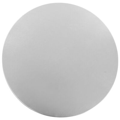 vidaXL Dwa obrusy elastyczne, 80 cm, srebrne