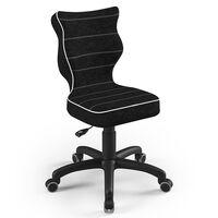 Entelo Good Chair Ergonomiczne krzesło dziecięce Petit VS01, 4, czarne
