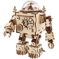 Robotime Zestaw modelarski, pozytywka Steampunk Orpheus