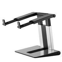 NewStar Składany stojak do laptopa, 10-17'', srebrno-czarny