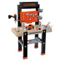 Smoby Zabawkowy stół warsztatowy Bricolo BLACK+DECKER, 79x39x103 cm