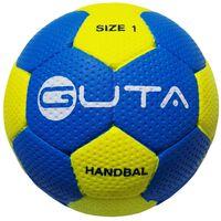 GUTA Piłka ręczna do gry na hali i na zewnątrz, rozmiar 1