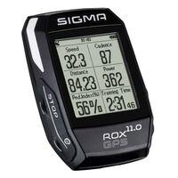 Sigma Licznik rowerowy ROX GPS 11.0, czarny, 1008