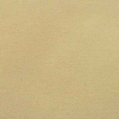 vidaXL Prostokątny żagiel ogrodowy z tkaniny oxford, 4x6 m, beżowy