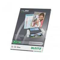 Leitz Folie do laminowania ILAM, 80 mikronów, A3, 100 szt.