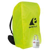 Travelsafe Pokrowiec na plecak z zamkiem TSA, M, żółty