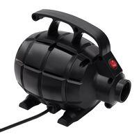 vidaXL Elektryczna pompka powietrza, czarna