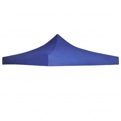 vidaXL Dach namiotu imprezowego, 3 x 3 m, niebieski