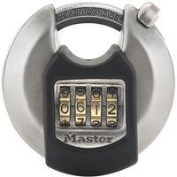Master Lock Kłódka dyskowa Excell, stal nierdzewna, 70 mm, M40EURDNUM
