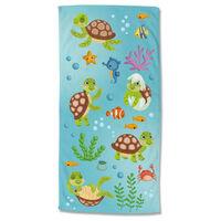 Good Morning Ręcznik plażowy TURTLES, 75x150 cm, kolorowy