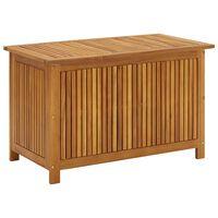 vidaXL Skrzynia ogrodowa, 90 x 50 x 106 cm, lite drewno akacjowe