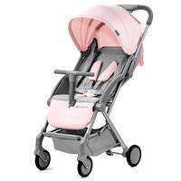 Kinderkraft Składany wózek spacerowy PILOT, różowy