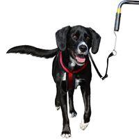 TRIXIE Smycz rowerowa dla psa, czarna, 1287