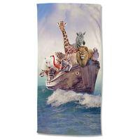 Good Morning Ręcznik plażowy NOAH, 75x150 cm, kolorowy