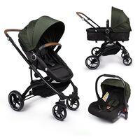 Little World Wózek 3-w-1 City Walker Limited Edition wojskowa zieleń