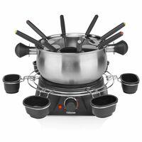 Tristar Rodzinny zestaw do fondue, 1400 W, 1,3 L, stal nierdzewna
