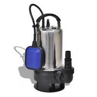 vidaXL Pompa zanurzeniowa do brudnej wody, 1100 W, 16500 L/h