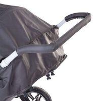CHILDHOME Osłonka na rączkę wózka, piankowa, czarna
