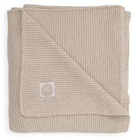 Jollein Kocyk Basic Knit, 75 x 100 cm, nugat