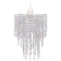 vidaXL Kryształowa lampa wisząca, 22,5 x 30,5 cm