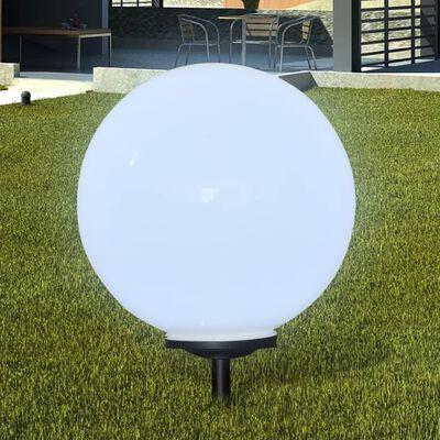 vidaXL Lampy do oświetlenia ścieżki, 2 szt, LED, 50 cm, ze szpikulcami