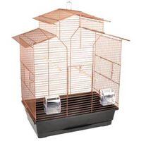 FLAMINGO Klatka dla ptaków Numfor 1, kolor miedzi, 51x30x60 cm