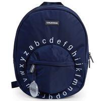 CHILDHOME Plecak szkolny ABC, granatowo-biały